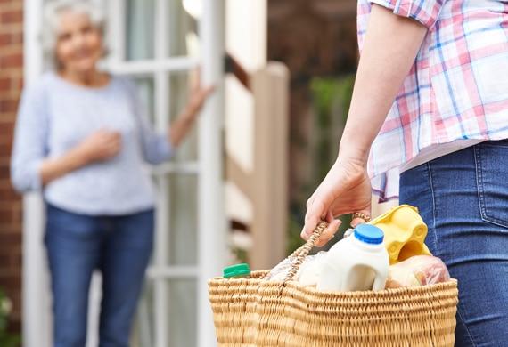 Association d'aide à la personne pour le portage des courses