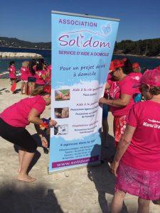 Soutien Solidom lutte contre le cancer du sein